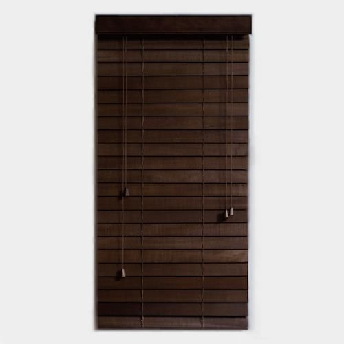 ウッドブラインド【スラット幅50mm幅40cm】メイン画像-デザイナーズ家具通販N PLUS