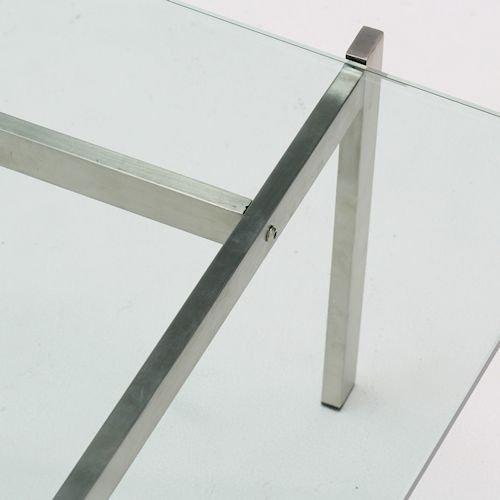 ポール・ケアホルム/PK61コーヒーテーブルリプロダクト【15mm強化ガラス】詳細画像6