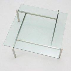 ポール・ケアホルム/PK61コーヒーテーブルリプロダクト【15mm強化ガラス】