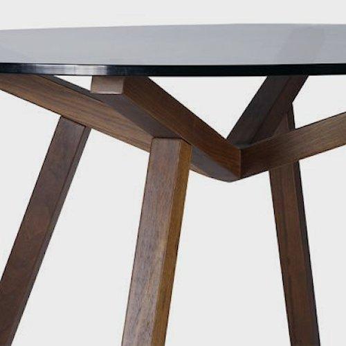 ショーン・ディックス/ForteTableフォルテダイニングテーブル【ガラス天板Ф120cm】詳細画像7