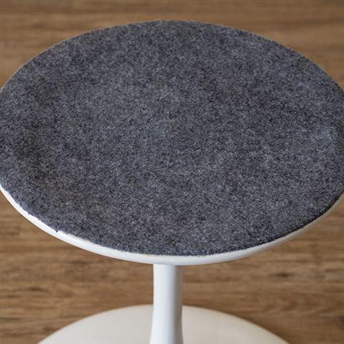 デザイナーズスタイル/FRPラウンドサイドテーブルE2018【H50cm2カラー】詳細画像6
