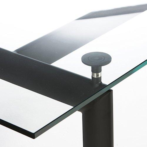 ル・コルビジェ/LC6ダイニングテーブル【W180cm・15mm強化ガラス】詳細画像4