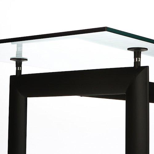 ル・コルビジェ/LC6ダイニングテーブル【W180cm・15mm強化ガラス】詳細画像5