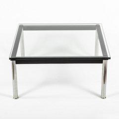 ル・コルビジェ/LC10ローテーブル【W70×D70】15mm厚強化ガラス