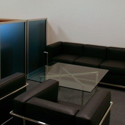 ミース・ファン・デル・ローエ/BarcelonaTableバルセロナコーヒーテーブル【12mm厚ガラス】詳細画像5