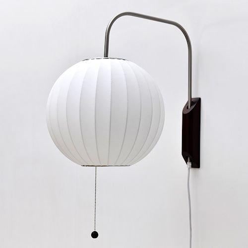 ジョージ・ネルソン/BubbleLampバブルランプウォールスコンス【ボール】詳細画像-デザイナーズ家具通販N PLUS