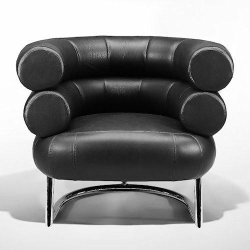 アイリーン・グレイ/Bibendumビベンダムチェア【スティールライン】メイン画像-デザイナーズ家具通販N PLUS