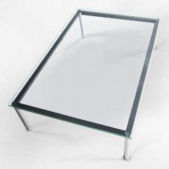 ル・コルビジェ/LC10ローテーブル【W120×D80】15mm厚強化ガラス