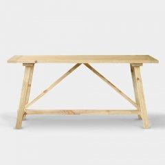 GARTガルト/ヴィンテージテイストパイン無垢材ダイニングテーブルBianビアン【W160cm】