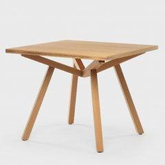 ショーン・ディックス/ForteTableフォルテダイニングテーブル【MDF天板90×90cm】
