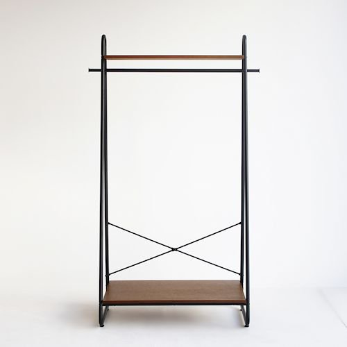 インダストリアルデザインJazzジャズオープンハンガーラック詳細画像-デザイナーズ家具通販N PLUS
