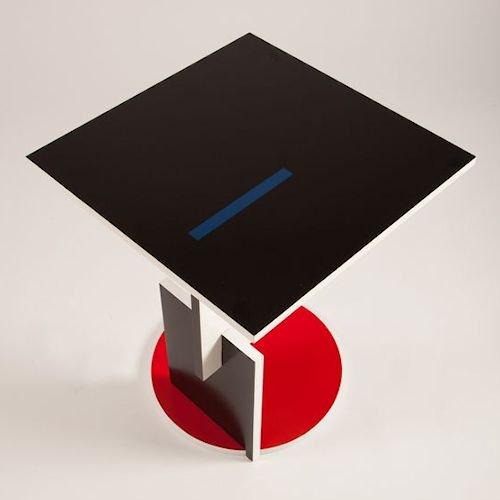 トーマス・リートフェルト/シュローダーテーブルメイン画像-デザイナーズ家具通販N PLUS