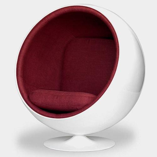 エーロ・アールニオ/ボールチェアBallChairリプロダクトメイン画像-デザイナーズ家具通販N PLUS