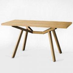 ショーン・ディックス/ForteTableフォルテダイニングテーブル【MDF突板天板140×85cm】