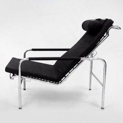 ガブリエル・ムッキ/GENNIチェア単体イタリアスティールライン