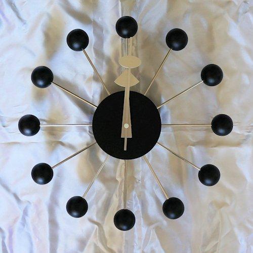 ジョージ・ネルソン/BallClockボールクロック【Verichronブラックエディション】詳細画像1