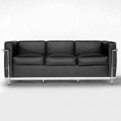 ル・コルビジェ/LC2グランコンフォート3Pソファ【スティールライン】-デザイナーズ家具通販N PLUS