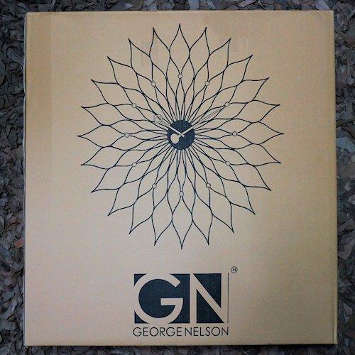 ジョージ・ネルソン/SunflowerClockサンフラワークロック【Verichronブラック】詳細画像10