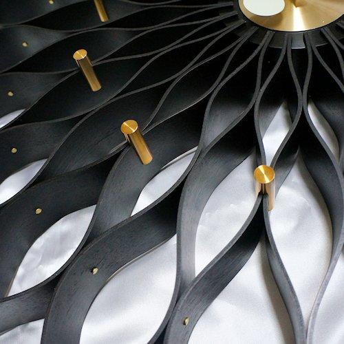 ジョージ・ネルソン/SunflowerClockサンフラワークロック【Verichronブラック】詳細画像5