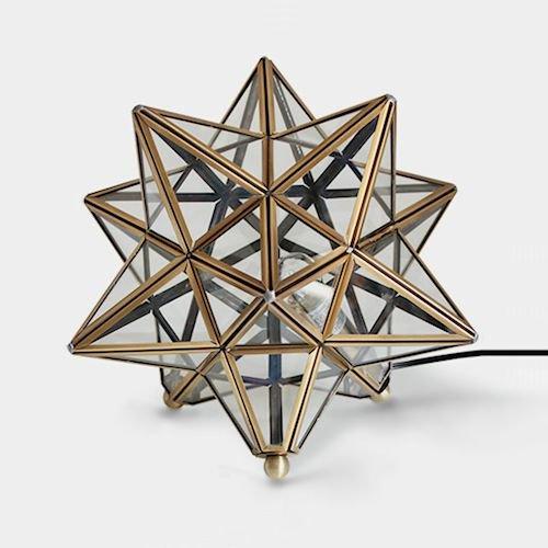 DI CLASSEディクラッセ/星型テーブルランプETOILEエトワール詳細画像-デザイナーズ家具通販N PLUS