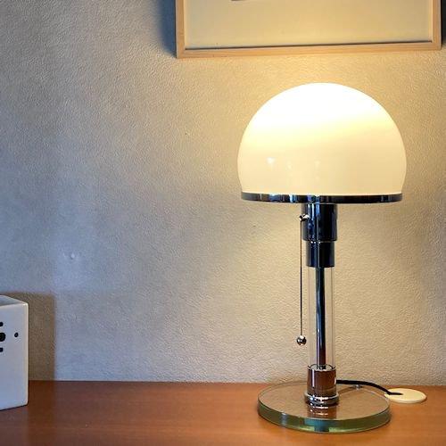 ウィルヘルム・ワーゲンフェルド/WG24バウハウスランプ【ガラスベース】詳細画像2