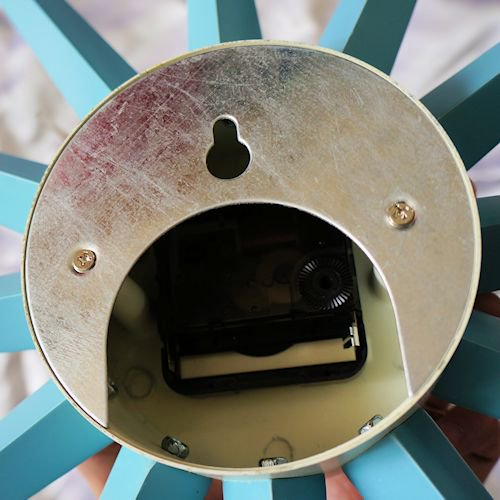 ジョージ・ネルソン/SunburstClockサンバーストクロック【追加色ブルー】詳細画像5
