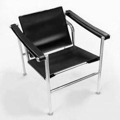 ル・コルビジェ/LC1スリングチェアSlingChair【PVC合成皮革】-デザイナーズ家具通販N PLUS