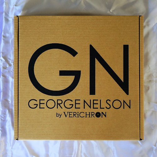 ジョージ・ネルソン/MirrorWallClockミラーウォールクロックVerichron詳細画像8