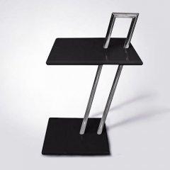アイリーン・グレイ/オケージョナルスクエアテーブル/MDFイタリアスティールライン-デザイナーズ家具通販N PLUS