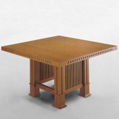 フランク・ロイド・ライト/HUSSERダイニングテーブル2サイズ