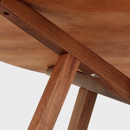 ショーン・ディックス/ForteTableフォルテダイニングテーブル【MDF天板Ф120cm】詳細画像11