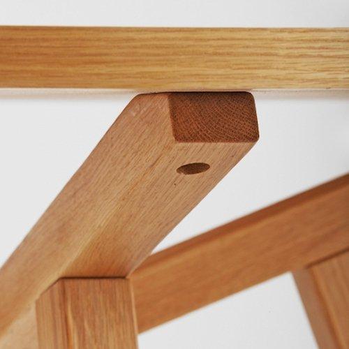 ショーン・ディックス/ForteTableフォルテダイニングテーブル【MDF天板Ф120cm】詳細画像12