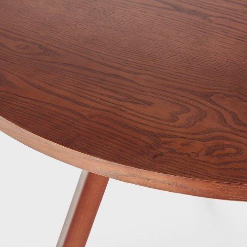 ショーン・ディックス/ForteTableフォルテダイニングテーブル【MDF天板Ф120cm】詳細画像9