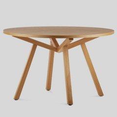 ショーン・ディックス/ForteTableフォルテダイニングテーブル【MDF天板Ф120cm】