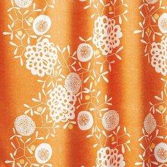 DesignLife/リースデザイン遮光カーテン花飾りハナカザリ