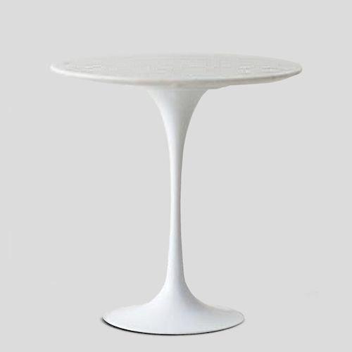 エーロ・サーリネン/チューリップサイドテーブル大理石天板Φ50cmメイン画像-デザイナーズ家具通販N PLUS