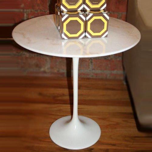 エーロ・サーリネン/チューリップサイドテーブル大理石天板Φ50cm詳細画像1
