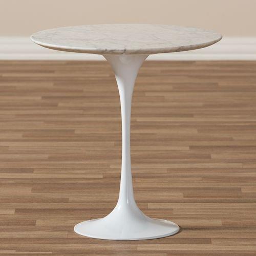 エーロ・サーリネン/チューリップサイドテーブル大理石天板Φ50cm詳細画像2