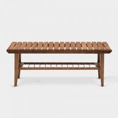 デザイナーズスタイル/北欧デザインCSローテーブル【W110cmウォールナット2カラー】