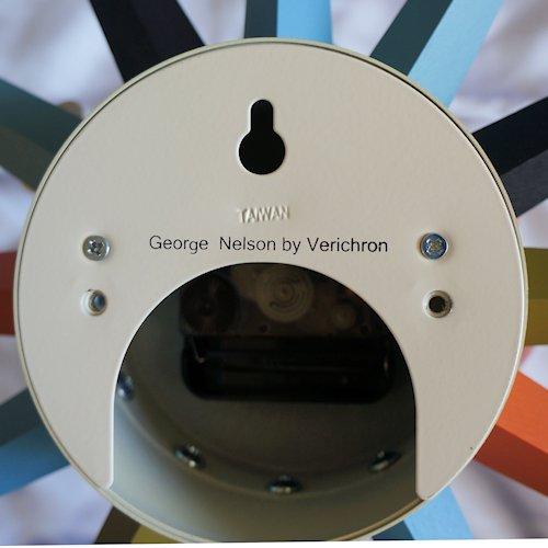 ジョージ・ネルソン/SunburstClockサンバーストクロック【Verichronマルチカラー】詳細画像8