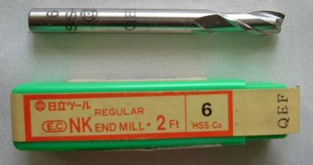 エンドミル HSS 在庫処分品 NKR 2mm~