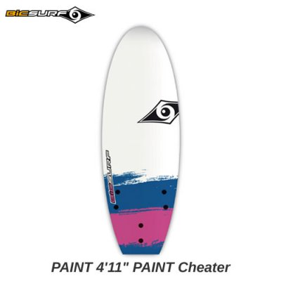【BIC SURFBOARD】ソフトボード PAINT Cheater  4'11