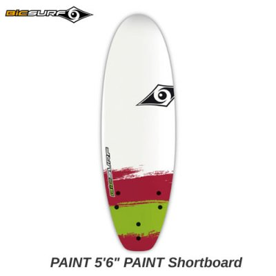 【BIC SURFBOARD】ソフト ショートボード PAINT Shortboard  5'6
