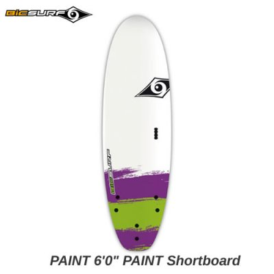 【BIC SURFBOARD】ソフト ショートボード PAINT Shortboard  6'0