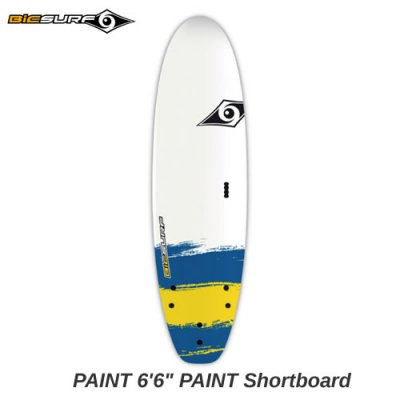 【BIC SURFBOARD】ソフト ショートボード PAINT Maxi Shortboard  6'6