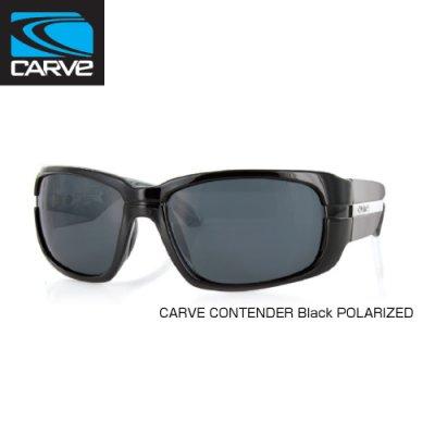 [CARVE/カーブ]SUNGLASSES【サングラス】 CONTENDER BlackPOLARIZED / SGCV-120