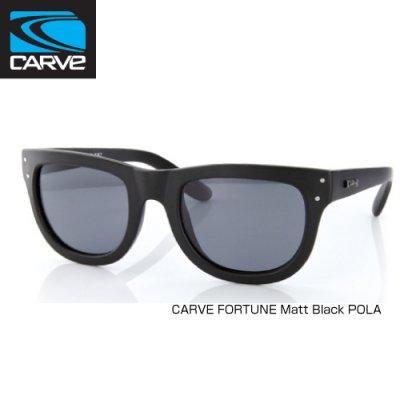 [CARVE/カーブ]SUNGLASSES【サングラス】 FORTUNE Matt Black POLA / SGCV-122