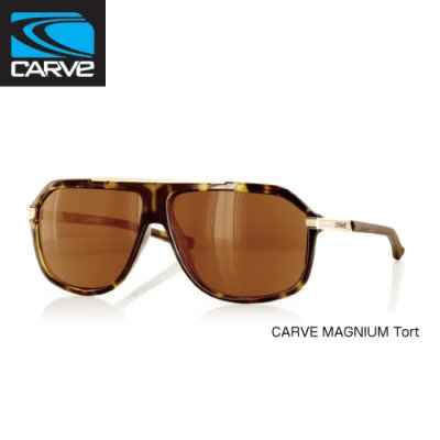 [CARVE/カーブ]SUNGLASSES【サングラス】 MAGNIUM Tort/ SGCV-126