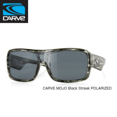 [CARVE/カーブ]SUNGLASSES【サングラス】 MOJO Black Streak POLARIZED/ SGCV-130