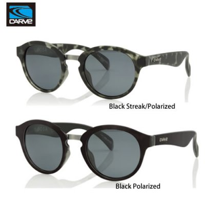 [CARVE/カーブ]SUNGLASSES【サングラス】 NOOSA Black Streak POLARIZED / SGCV-132